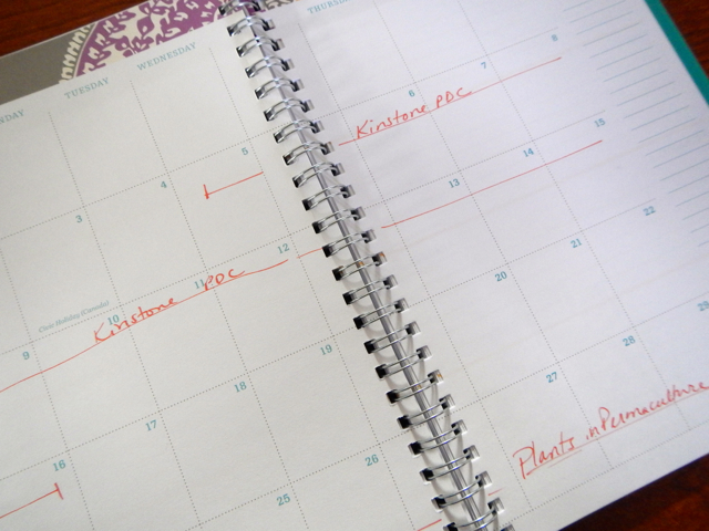 Calendar of Courses and Events