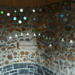 Cordwood Dragon in the Kiosk at Kinstone