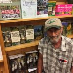 Wayne at Missouri Botanical Garden bookstore